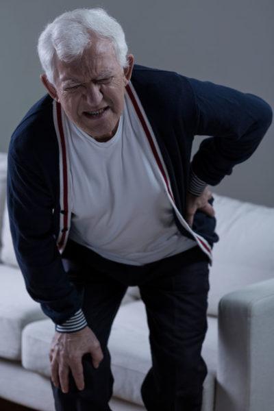 Man with Hip arthritis